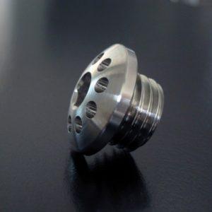 Billet Aluminum - Titanium