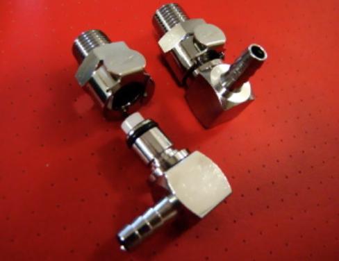 MV Agusta CPC Fuel Line Quick Connectors set of 4 pieces