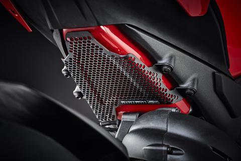 Ducati Panigale V4 S Pillion Peg Removal Kit Fuel Tank Cover Guard